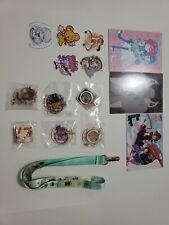 Cardcaptor sakura Capture fan Merchandise ONLY stickers charms lanyard postcard
