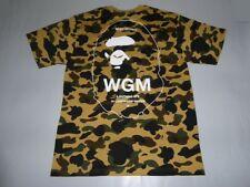 ec17462951 17315 bape 1st camo wgm bathing ape head yellow tee XL