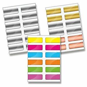 24er Set Magnetische Lesezeichen Bunte, Silber, Kupfer, Gold Buch Markierung