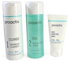 Proactiv 3 piece Kit 60 Day cleanser toner mask proactive USA  2020 exp