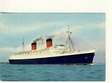 .Y 262 POSTCARD OF RMS QUEEN ELIZABETH