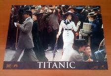 TITANIC fotobusta poster affiche Leonardo DiCaprio Kate Winslet 1997 P45