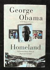 SIGNED George Obama (President Obamas Half Brother)-Homeland 1/1 NF/NF