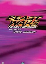Transformers: Beast Wars - The Complete Third Season (DVD, 2004, 2-Disc Set)