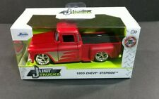 Jada Just Trucks 1955 Chevy Stepside 1:32 Diecast Red