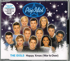 """THE IDOLS - 5""""CD - Happy Xmas (War Is Over) + Video. New Sealed"""
