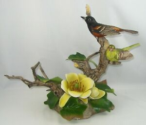 "Boehm Porcelain Bird Sculpture ""ORCHARD ORIOLE"" 400-11"