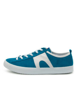 New Camper Imar 518 Blue White Suede Mens Shoes Casual Sneakers Casual