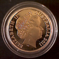 2011 $1 Encapsulated 'Mob of Roo's' Ex Baby & Wedding Set Proof Coin:Unc