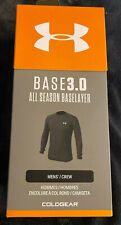 Under Armour Mens Large Base3.0 Baselayer All Season Nwt 1343243