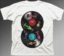 DJ Endless Track Vinyl Formula 1 F1 Petronas Awesome Mix Retro  t-shirt 9619