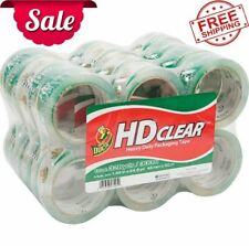 Hd Clear 188 In X 546 Yd Packing Tape Clear 24 Count Uv Resistant New