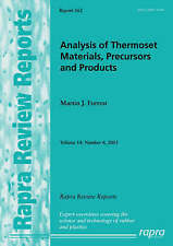 Analysis of Thermoset Materials, Precursors and Products (Rapra Review Reports)