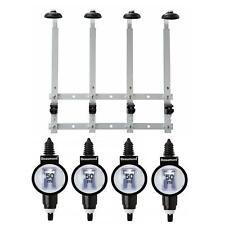 Beaumont 4 x 50ml Metrix SL Bar Optic Spirit Measure & 70cl/1L Wall Brackets