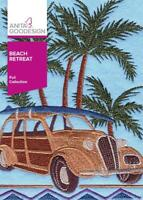 Beach Retreat Anita Goodesign Embroidery Machine Design CD NEW 10AGHD