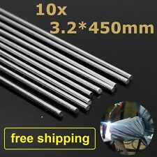 "10pcs 3.2mm*17.7"" Aluminum Alloy Repair Brazing Rods No Welding Fix Cracks"