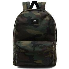 VANS Backpack Old Skool III Classic Camo Skateboard Surf School Bag