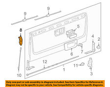GM OEM Tailgate-Lock or Actuator Latch Release 23158822