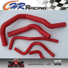 RED silicone radiator&heater hose for Acura/Honda Integra Type R DC2/DB8 B18C
