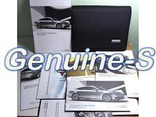 2012 Audi A7 Owners Manual Owner's MMI Navigation Manual Set + Black cover Case