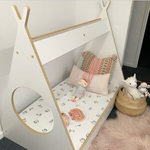 TODDLER BED CUBBY HOUSE FLOOR BED - AUSTRALIAN MADE - DIY
