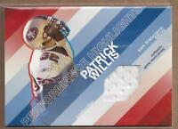 2008 Topps Performance Highlights Relics #THRPW Patrick Willis Jersey
