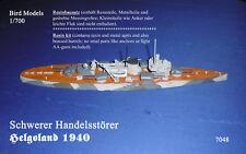 Schwerer Handelsstörer Helgoland 1940 1/700 Bird Models Resinbausatz / resin kit