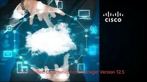 Cisco Collaboration Voice Lab  CCNA CCNP CCIE VMware images CUCM CUC  IMP  v12.5