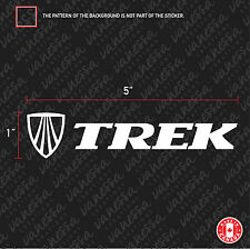 2X  TREK bicycle mountain bike logo sticker vinyl decal