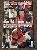 American Spider-Man Presents American Son 1 2 3 4 Set Series Run Lot 1-4 FN