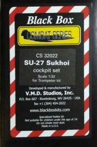 Black Box V.M.D. Studios CS32022 1/32 Cockpit Set für SU-27 SUKHOI (Trumpeter)