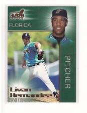 1998 Pacific Aurora #130 Livan Hernandez Florida Collectible Baseball Card