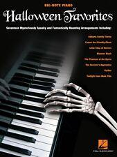 Halloween Favorites Sheet Music Big Note SongBook NEW 000312305