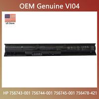 Genuine V104 OEM VI04 Battery for HP 756743-001 756744-001 756745-001 756478-421