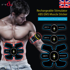 3 in 1 Intelligent EMS Fitness Abdominal Muscle Trainer ABS Stimulator Toner Kit
