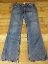 Gap Womens Jeans Size 8 Blue Low Rise Flare Leg W 31 Inseam 31.5 Med Wash USA