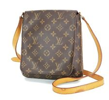 Authentic LOUIS VUITTON Musette Salsa Monogram Cross Body Shoulder Bag #34980