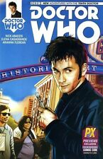 DOCTOR WHO 1 tenth 10th Dr DAVID TENNANT SDCC PX variant TITAN COMIC 2014 BBC TV