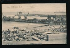 West Africa Gold Coast ACCRA Harbour Scene Used 1913 PPC