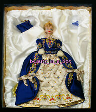 Faberge Imperial Elegance Porcelain Barbie Doll Exclusive NRFB COA Blue
