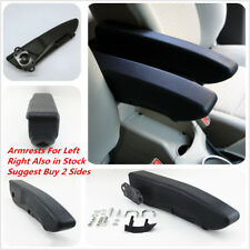 Left Side Armrest Centre Console Arm Rest - Black