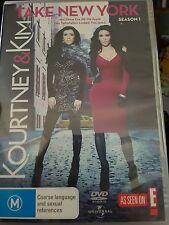 Kourtney & Kim Take New York Season 1 DVD SET - FREE POST
