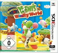 Poochy & Yoshi's Woolly Worlds für Nintendo 3DS - NEU!!!