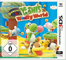 Poochy & Yoshi's Woolly World (Nintendo 3DS, 2017, DVD-Box) - European Version