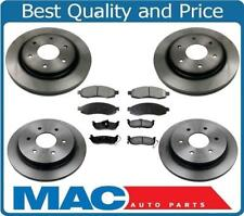 320MM Front & Rear Brake Rotors & Ceramic Brake Pads for 03-2005 to -07 Titan