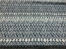 Sakari Stone Washed Blue Outdoor Fabric By the yard