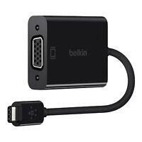 Belkin USB-C to VGA Adapter For MacBook F2CU037btBLK Black