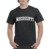 MS Mississippi Flag Jackson Map Bulldogs Home State University MSU  T-Shirt