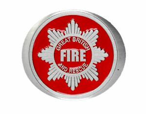 Fire Fighter Oval Belt Buckle