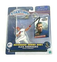 2001 Extended Starting Lineup 2 MLB Alex Rodriguez Texas Rangers Action Figure